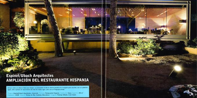 THERMOCHIP en el restaurante Hispania