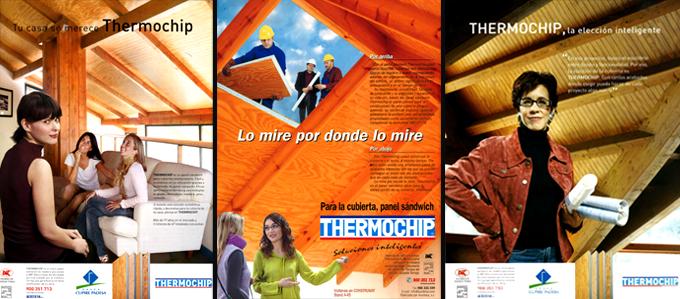 Carteles publicitarios THERMOCHIP