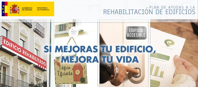 Ayudas a la rehabilitación del Ministerio de Fomento