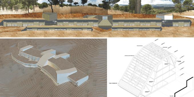 Paneles sándwich THERMOCHIP en la Residencia de los Montes Comunales de Adamuz